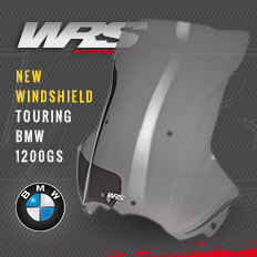 Touring windscreen for BMW R 1200 GS ADV
