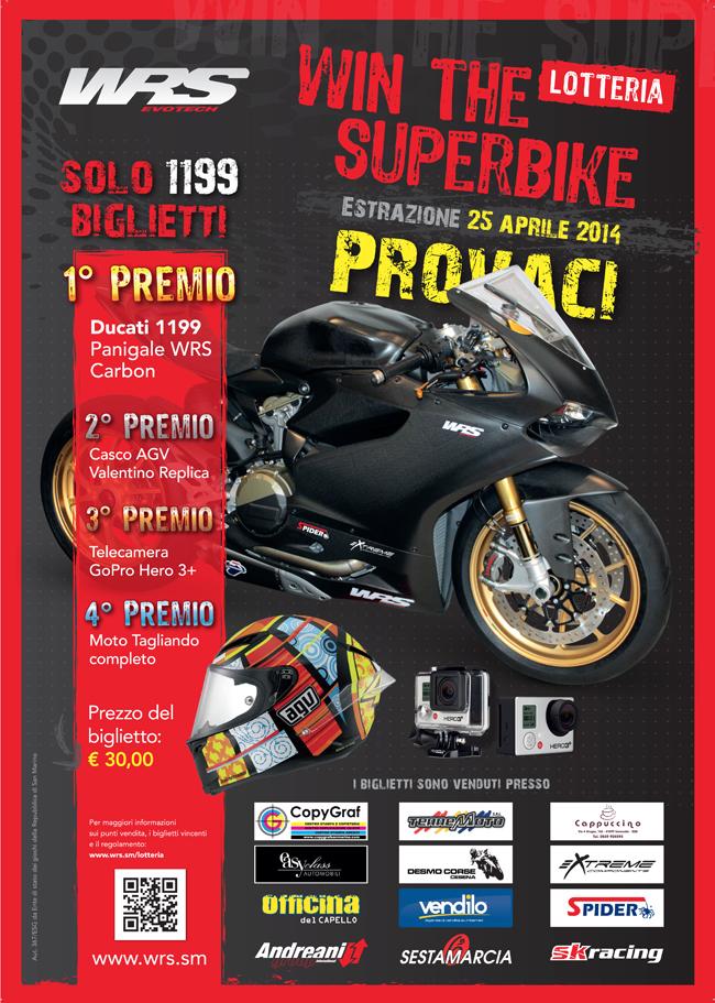 Lotteria WRS: Vinci una Ducati Panigale 1199 !